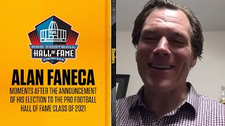 EXCLUSIVE Alan Faneca moments after announcement of his election to the Pro Football Hall of Fame