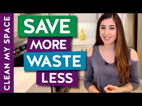 10 ways to SAVE MORE and WASTE LESS!