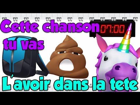 LES ANIMOJIS - LA CHANSON DES COURS ET DES VACANCES