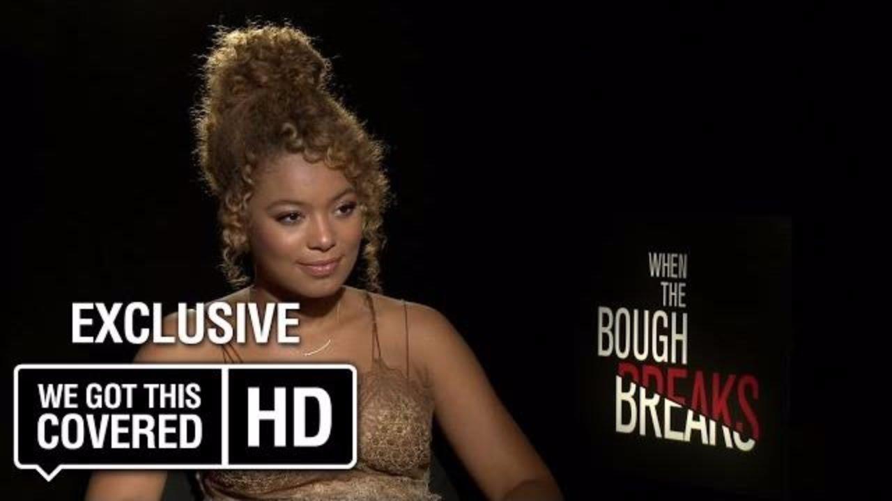 Download Exclusive Interview: Jaz Sinclair Talks When The Bough Breaks [HD]