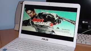 "Just Cause 2 Gameplay- Asus EeeBook E402MA-WX0032T 14"" (Intel Celeron Quad Core/ 4gb Ram)"