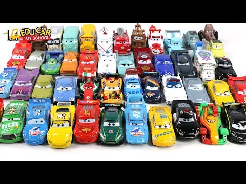 Learning Color Special Many Disney Pixar Cars Lightning McQueen Mack Truck for kids toys