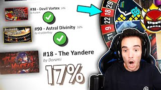 VOLVÍ A INTENTAR EL EXTREME DEMON ROULETTE Y... (Geometry Dash)