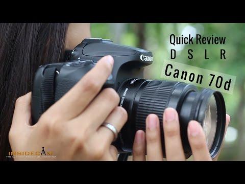 Quick Review Canon 70d - Spesifikasi Maksimal Harga Minimal