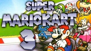 Let's Play Super Mario Kart Part 3: Tödlicher Stern Cup