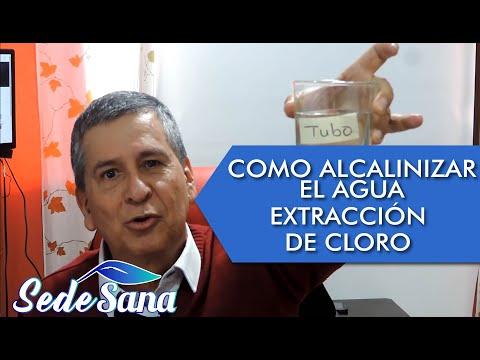 SS2   CMO ALCALINIZAR EL AGUA   EXTRACCIN DE CLORO DEL AGUA    LUIS ANTONIO MELN GMEZ