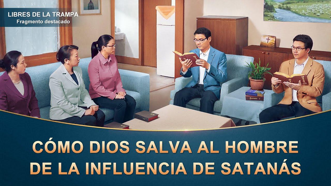 """Fragmento 4 de película evangélico """"Libres de la trampa"""": Cómo Dios salva al hombre de la influencia de Satanás"""