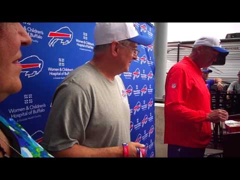 Buffalo Bills Owner Terry Pegula & Head Coach Rex Ryan Take the Dog Biscuit Challenge!