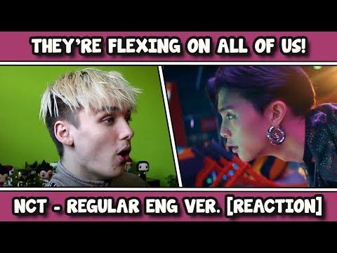 NCT 127 엔시티 127 'Regular (English Ver.)' MV REACTION
