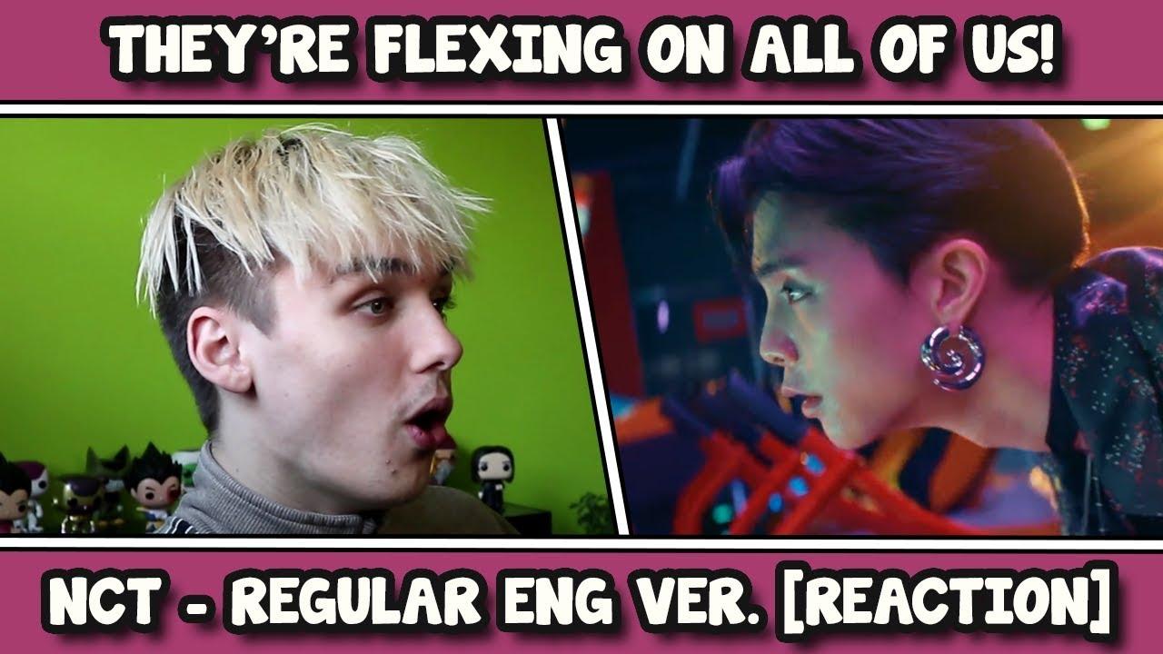NCT 127 엔시티 127 'Regular (English Ver )' MV REACTION