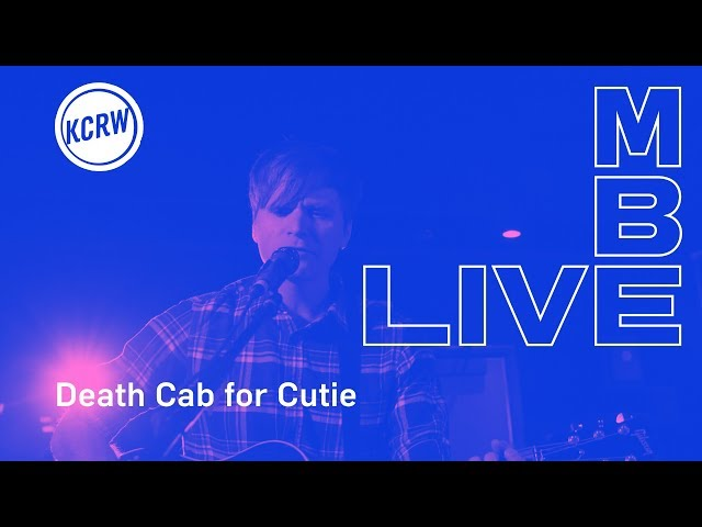Death Cab for Cutie performing When We Drive live on KCRW