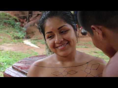 Panama Tribu Emberra Peinture corporelle / Panama Tribe Emberra Body paint