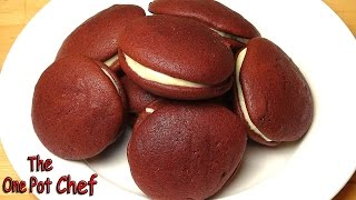 Red Velvet Whoopie Pies - Recipe