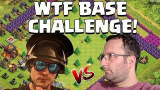 WTF BASE CHALLENGE! ☆ Clash of Clans ☆ CoC