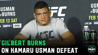 "Gilbert Burns: ""I went Cody Garbrandt crazy when I hurt Kamaru Usman"""