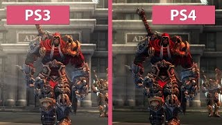 Darksiders – PS3 vs. PS4 Warmastered Edition Remaster Graphics Comparison