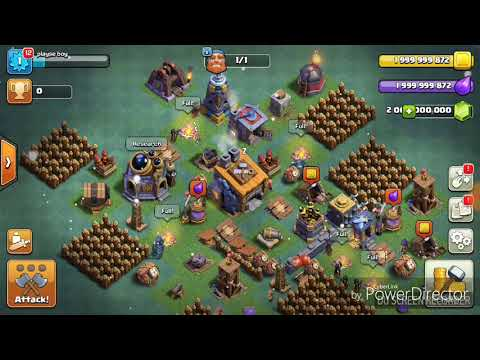 Clash of clans mod (unlimited gold,elixir and gems)