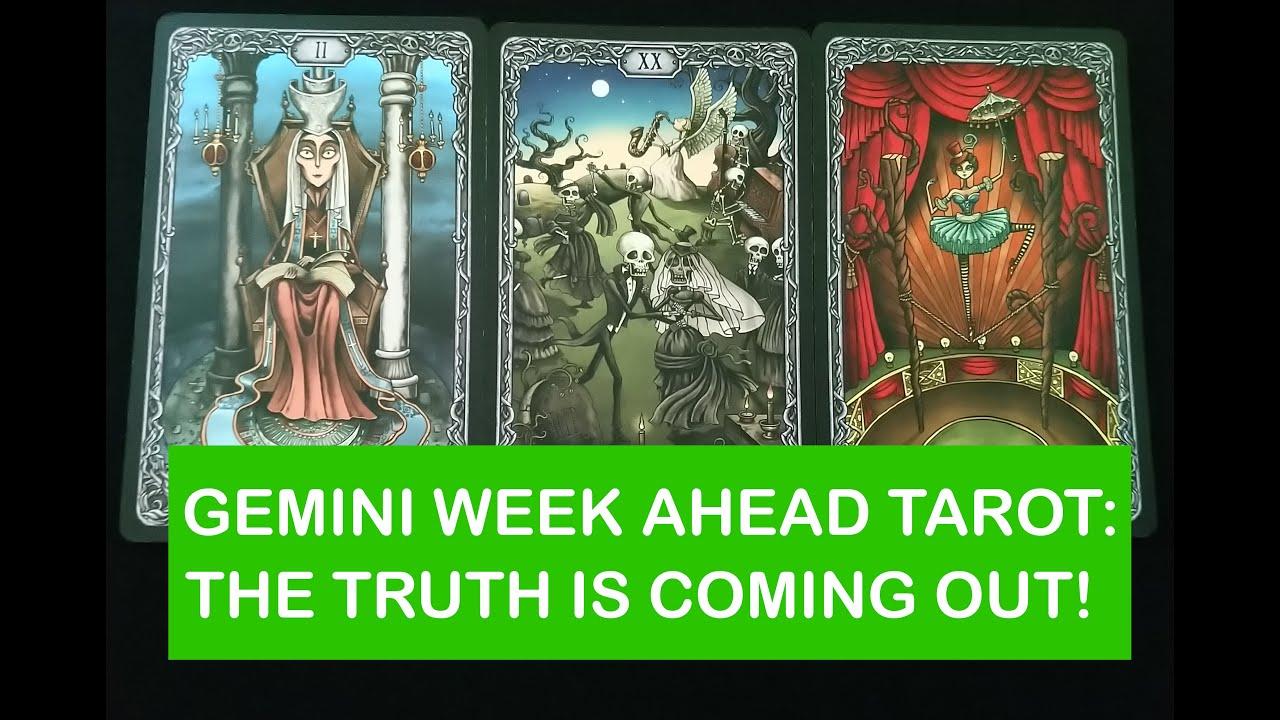 gemini weekly 27 to 2 tarot