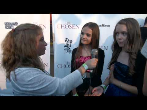 Mykayla and Hannah Sohn  at The Chosen Premiere