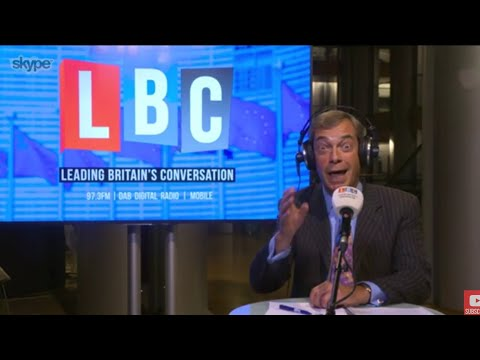 The Nigel Farage Show: Would a public sector strike win over your sympathies? LBC - 12th Sept 2017
