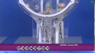 Resultado da Lotofácil concurso 1013 dia 31/01/2014 (Momento da Sorte - RedeTV)