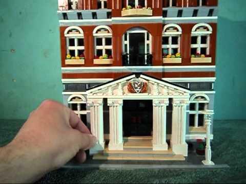 Lego Modular City Hall 10224) Review
