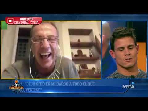 Cristóbal Soria MANDA MENSAJES a los MADRIDISTAS: 'Estoy disfrutando de UNA NOCHE HISTÓRICA'