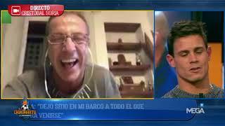 Cristóbal Soria MANDA MENSAJES a los MADRIDISTAS: