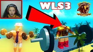 DO YOU HAVE a LIONS SIDE? 👊 ROBLOX WEiGHT LiFTiNG SiMULATOR 3 codes 👊 NEW TURKISH WLS3 2018