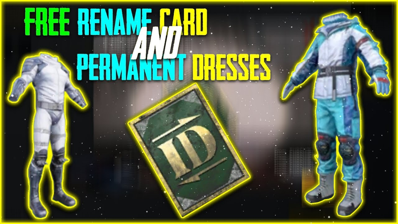 How to Get Free Rename card And Legendary Dresses | Get Free Permanent Dress | Get Free rename Card