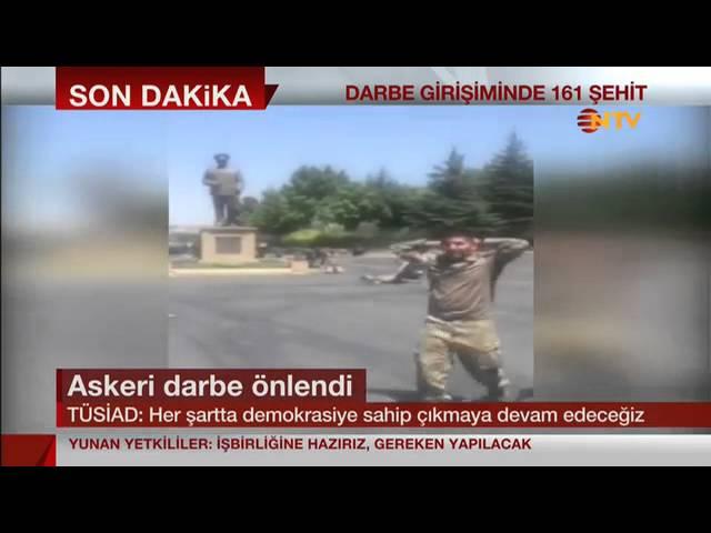 TÜSİAD YK Başkanı Cansen Başaran-Symes darbe girişimini NTV kanalında değerlendirdi