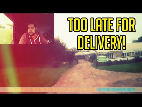 Too Late For Delivery! :(