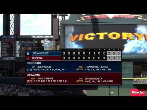 MLB The Show 17 MLB DIVISIONAL PLAYOFFS Game 3 DODGERS vs DIAMONDBACKS Will there be a sweep?