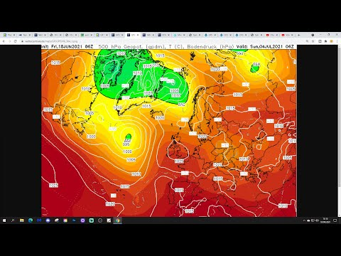Ten Day Forecast: Drier And Warmer Weather Returning For Late June?