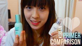 PRIMER REVIEW: The Face Shop Velvet Skin vs. Banila Co. Purity