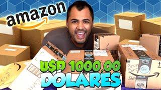 CHEGARAM AS COMPRAS DA AMAZON AMERICANA! - TOMEI CALOTE?