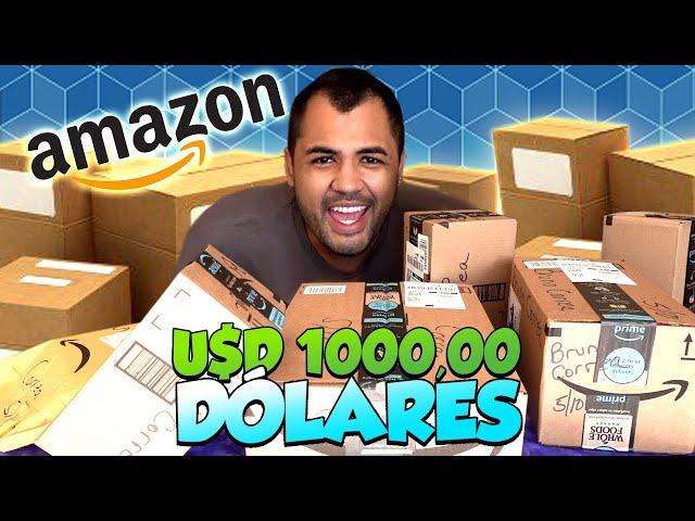 CHEGARAM AS COMPRAS DA AMAZON AMERICANA! - TOMEI CALOTE?