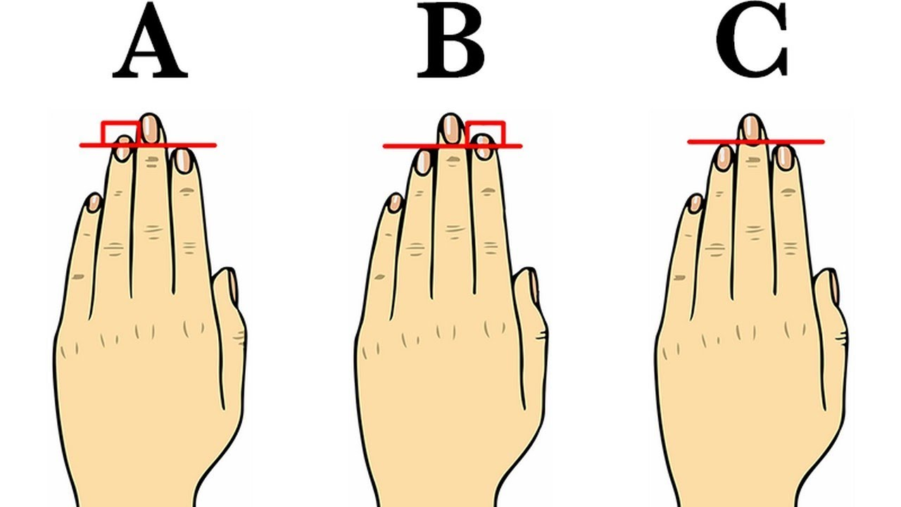 Finger length ratios indicate sexual orientation