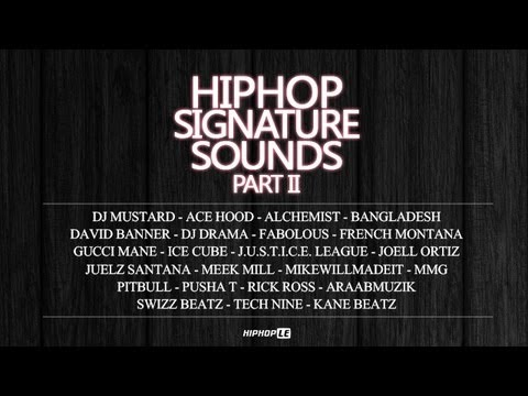 Hiphop Signature Sounds (Part 2)