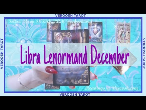 Someone Needs to Tell the Truth, they LOVE you ♎ Libra December 2018 ♎ Lenormand
