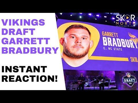 Vikings draft Garrett Bradbury: Instant reaction!