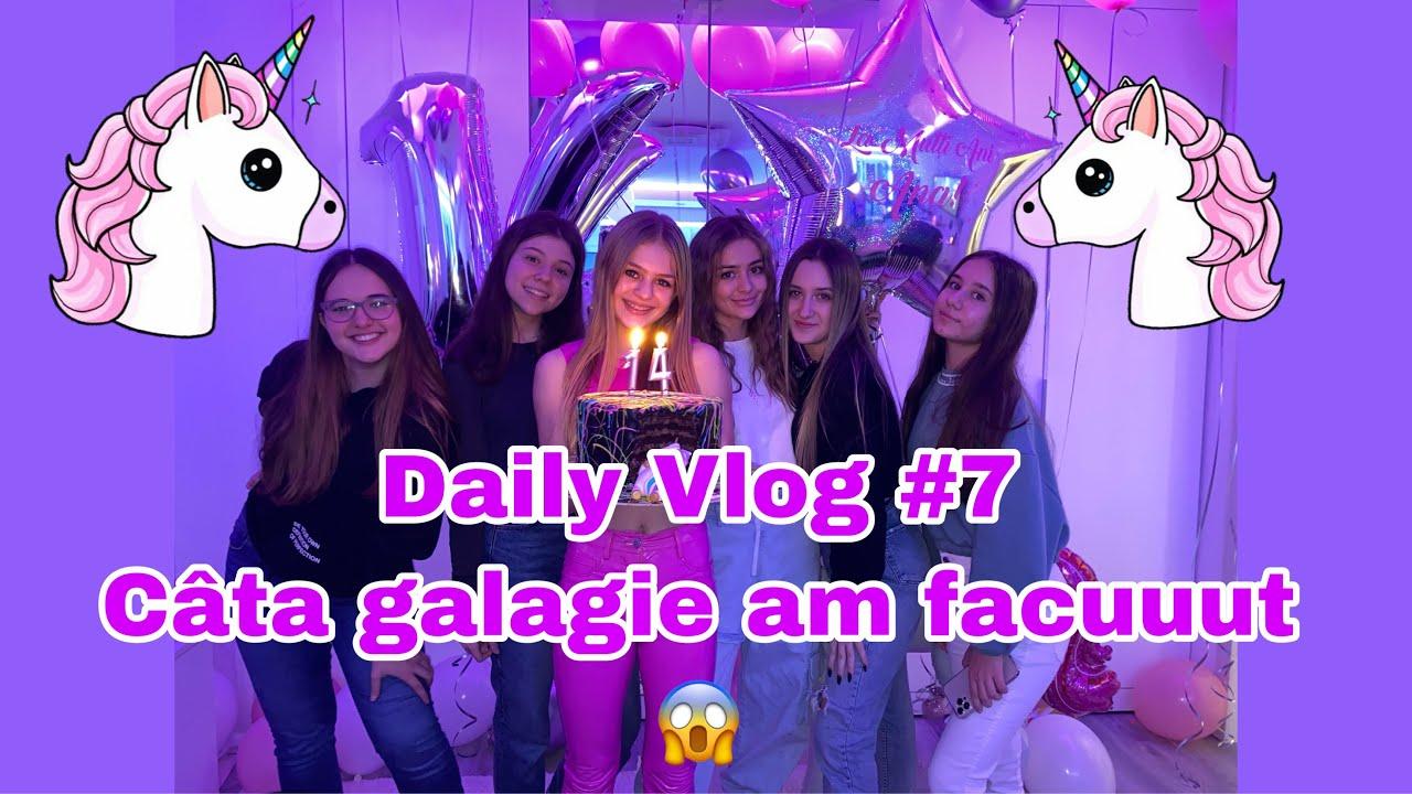 Daily Vlog #7 | Petrecerea a 2 de ziua mea??| multe surprize ?