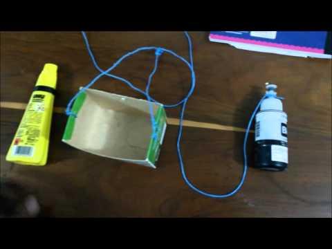 Experimento de Dinamica Segunda ley de Newton