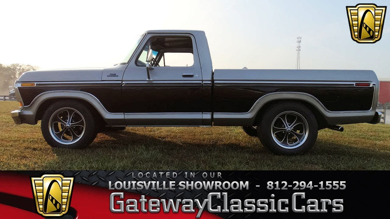 Ford Louisville Ky >> 1978 Ford F100 - Louisville Showroom - Stock # 1614 - YouTube