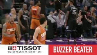 Tissot Buzzer Beater: Devin Booker Hits Game Winner | 02.03.17