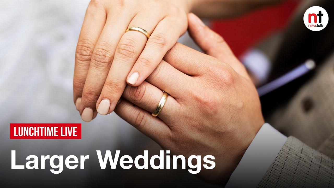 Wedding sizes should increase to 150 by September - Irish Hotels Federation