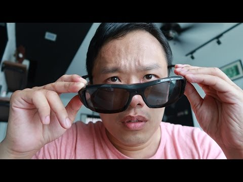 Spy Sunglasses Review (Actual Footage)