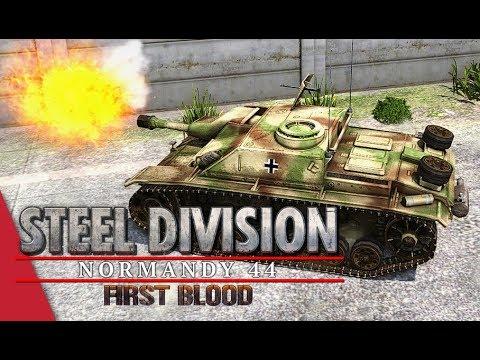 (SDL Code S Quarter Finals) Herr Robert vs włochatypająkulec, Game 1! Steel Division: Normandy 44
