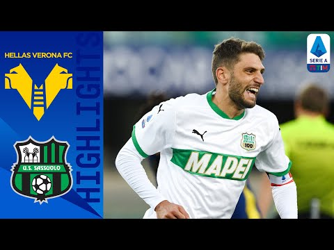 Helas Verona Sassuolo Goals And Highlights