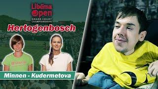 WTA Hertogenbosch. Minnen - Kudermetova | Разбор матча